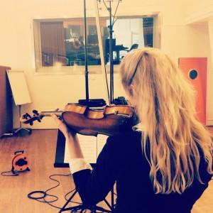 Merel Vercammen recording