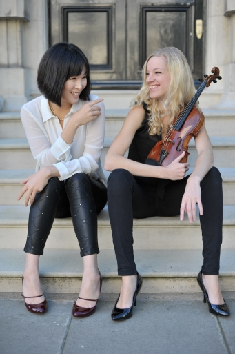 Jenna Sung and Merel Vercammen